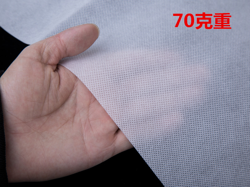 70克白色全新料无纺布产品展示