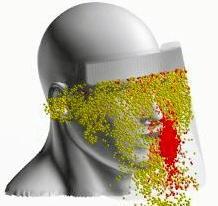 日本研究:防护面罩不敌无纺布口罩 很难阻挡飞沫传播